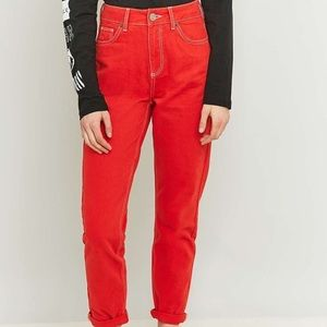 Urban outfitters BDG red cargo pants size 25